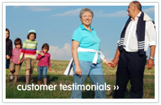 Read our customer's testimonials